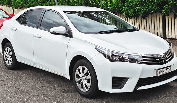 11th Generation Toyota Corolla (E170) 2013, 2014, 2015