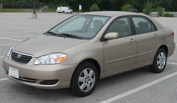 9th Generation Toyota Corolla (E120) 2000, 2001, 2002, 2003, 2004, 2005. 2006
