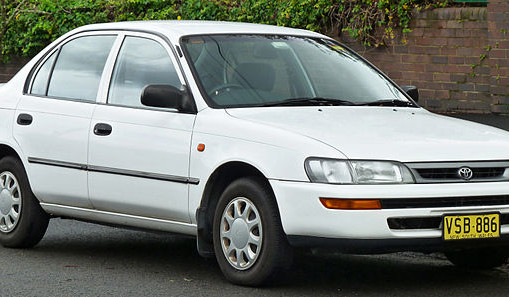 7th Generation Toyota Corolla (E100) 1991, 1992, 1993, 1994, 1995