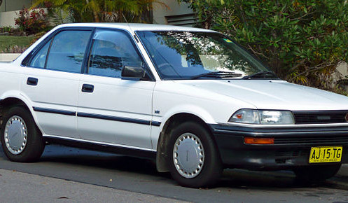 6th Generation Toyota Corolla (E90) 1987, 1988, 1989, 1990, 1991