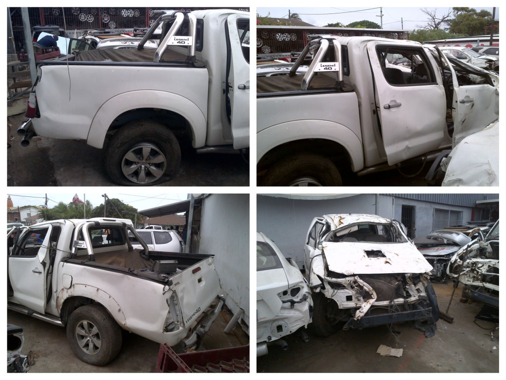 2008 Toyota Hilux Stripping For Parts Used Toyota Spares