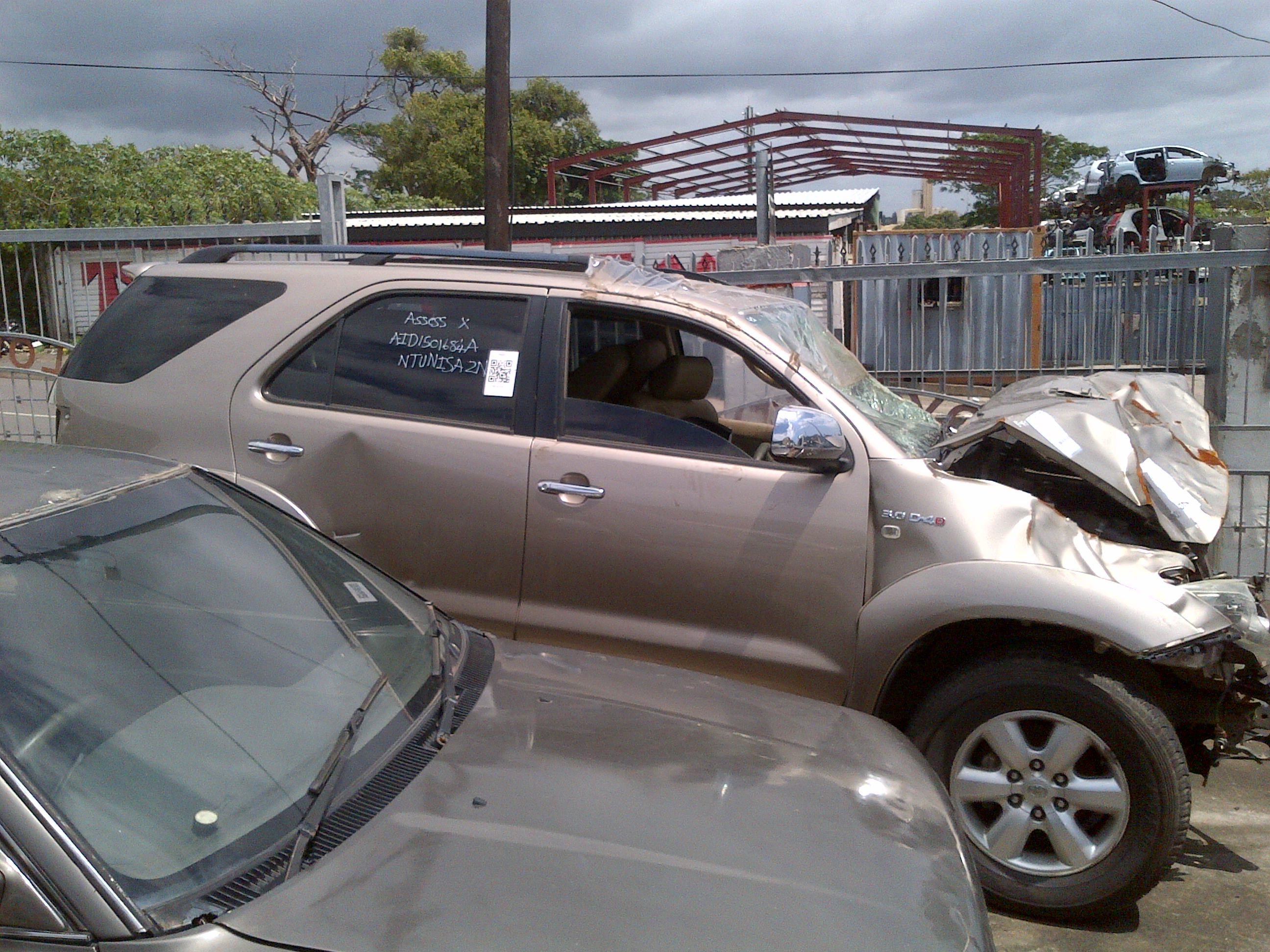 2010 Toyota Fortuner Stripping For Parts