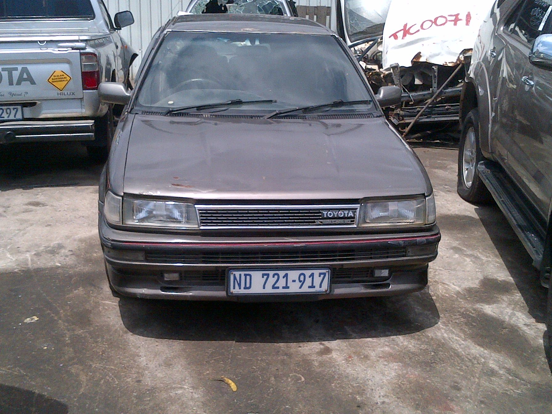 1989 Toyota Corolla Twin Cam 24 Valve - Stripping For Parts