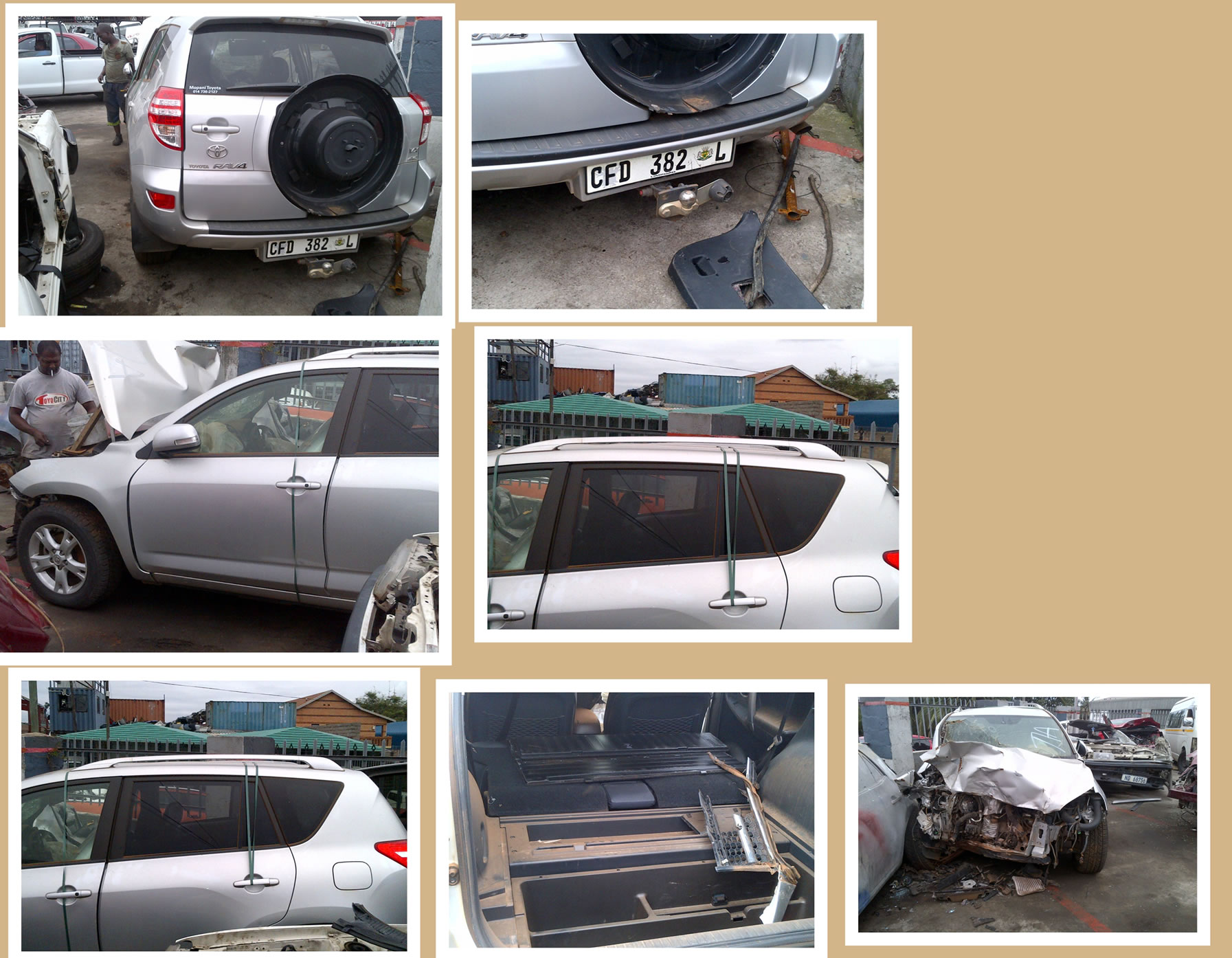 Toyota Rav4 Stripping for spares