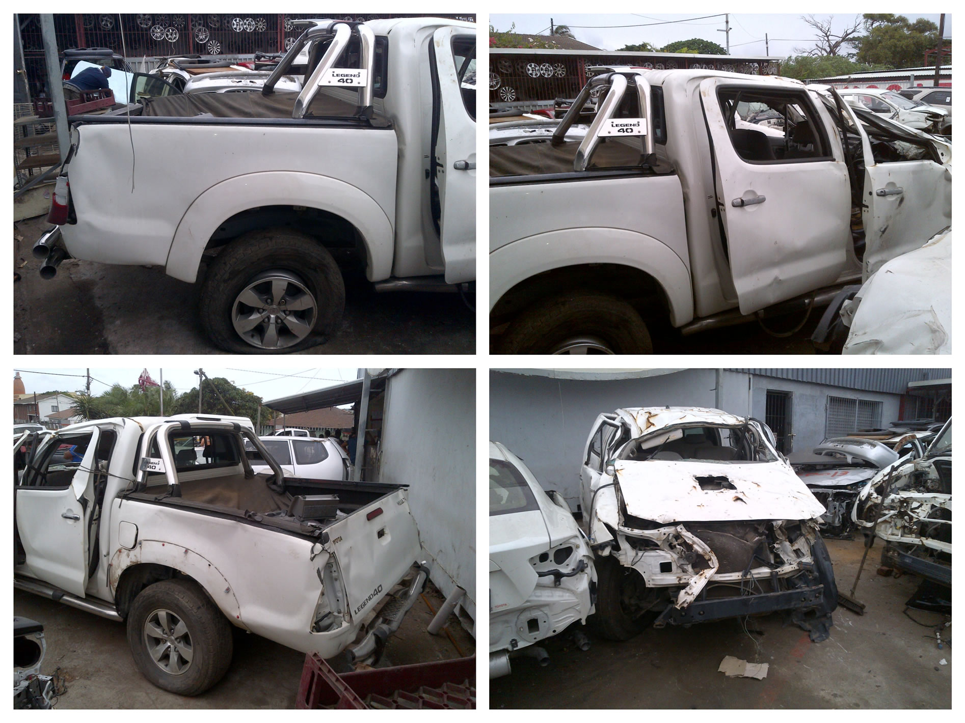 2008 toyota hilux stripping for parts