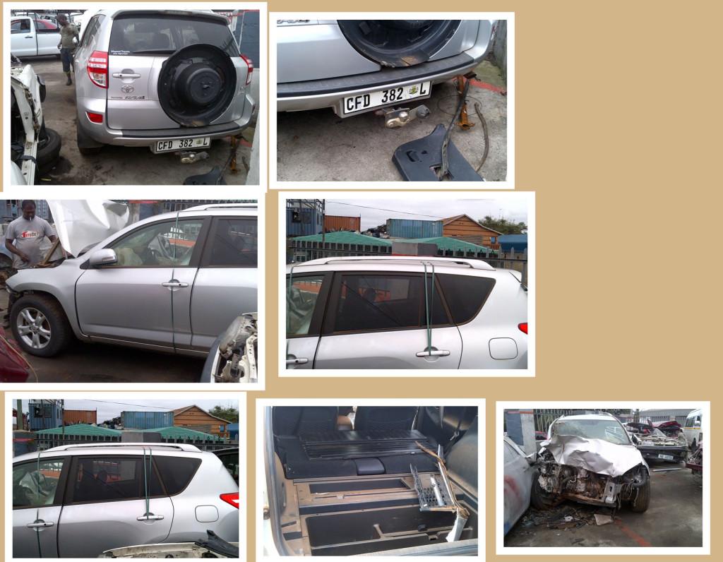 Toyota Rav4 Stripping for spares